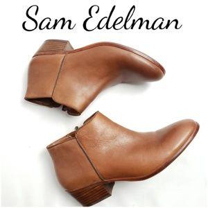 SAM EDELMAN Leather Booties!